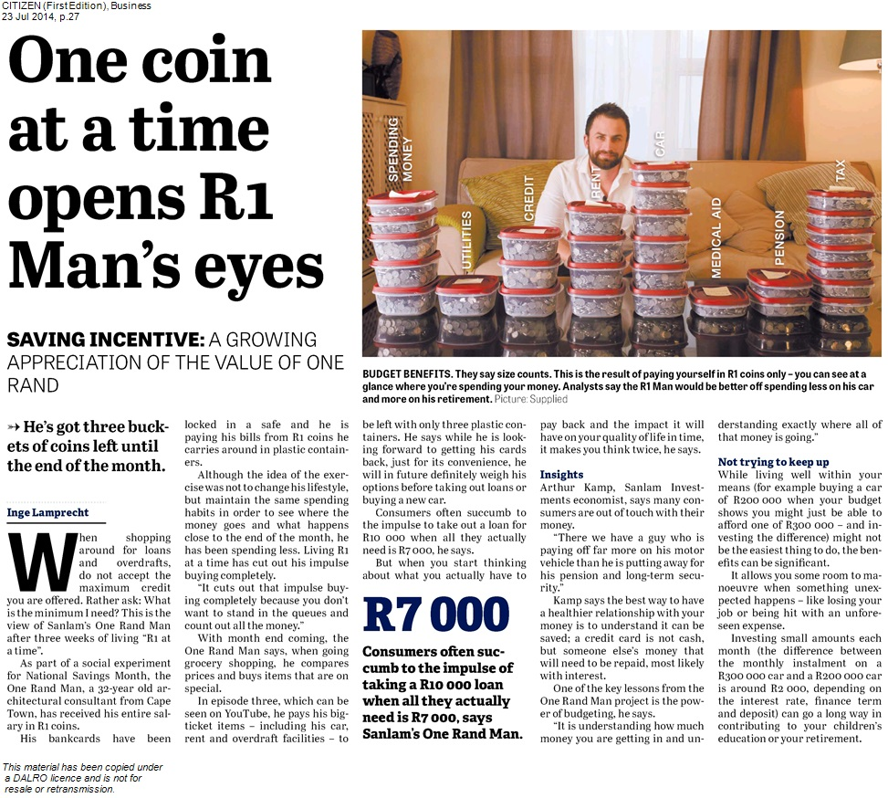 Citizen_230714_One coin at a time opens R1 Man