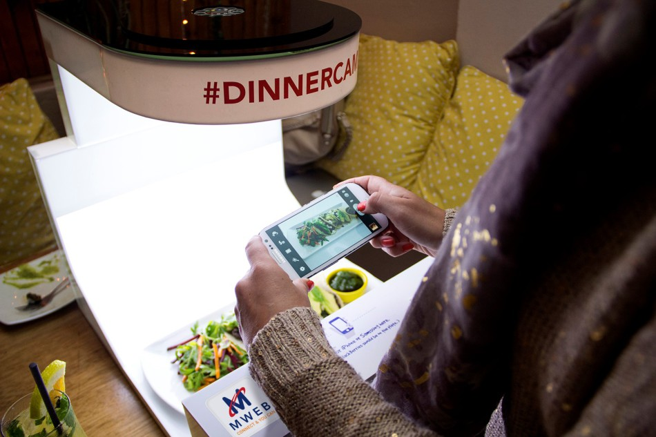 WINNER: The MWEB #Dinnercam campaign was a global sensation that won Atmosphere Communications a gold PRISM