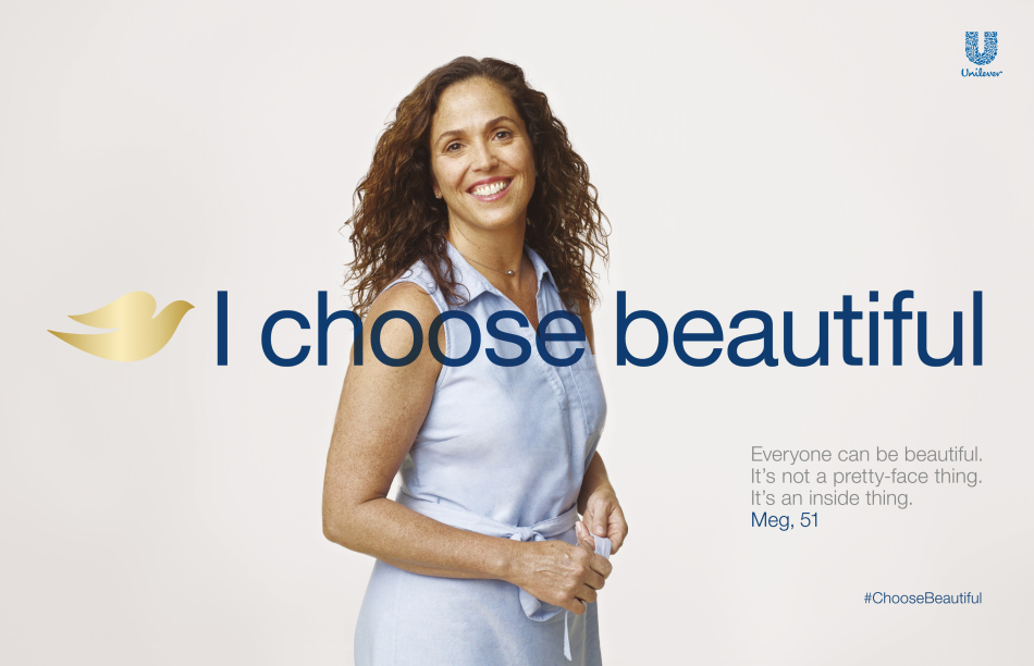 Dove #ChooseBeautiful
