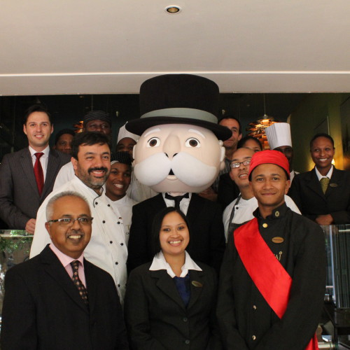 Taj Cape Town welcomes Mr Monopoly