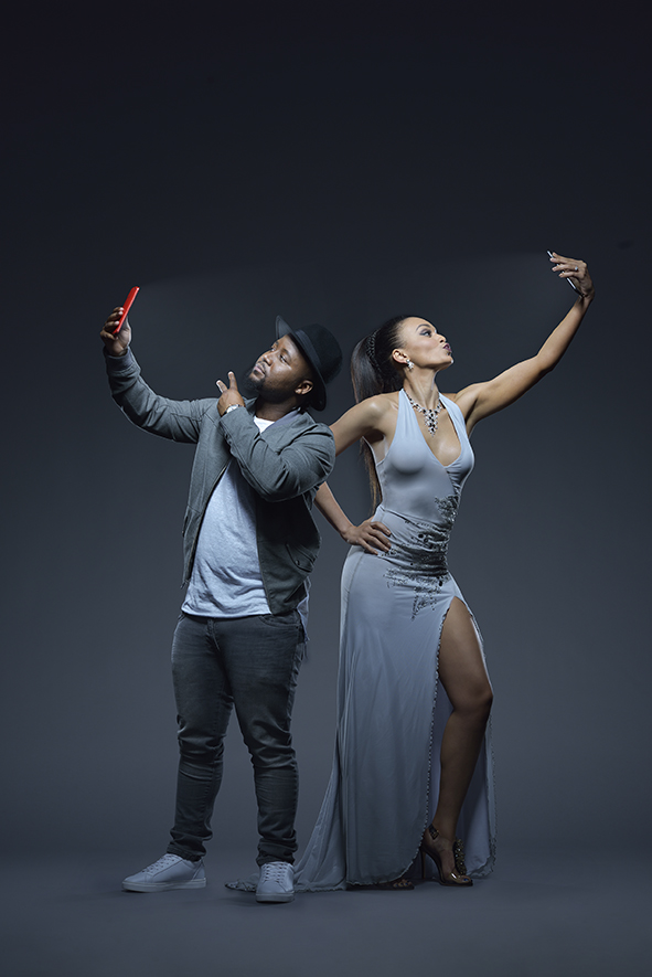 Cassper Nyovest and Pearl Thusi