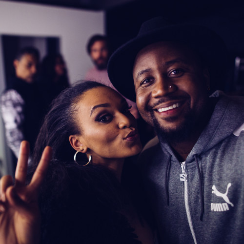 Pearl Thusi and Cassper Nyovest