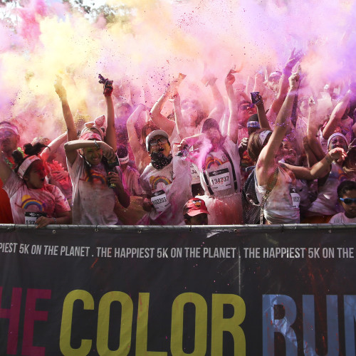Capitec Color Run 2016- Cape Town