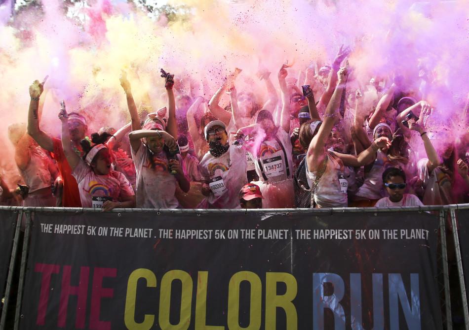 Capitec Color Run 2016- Cape Town