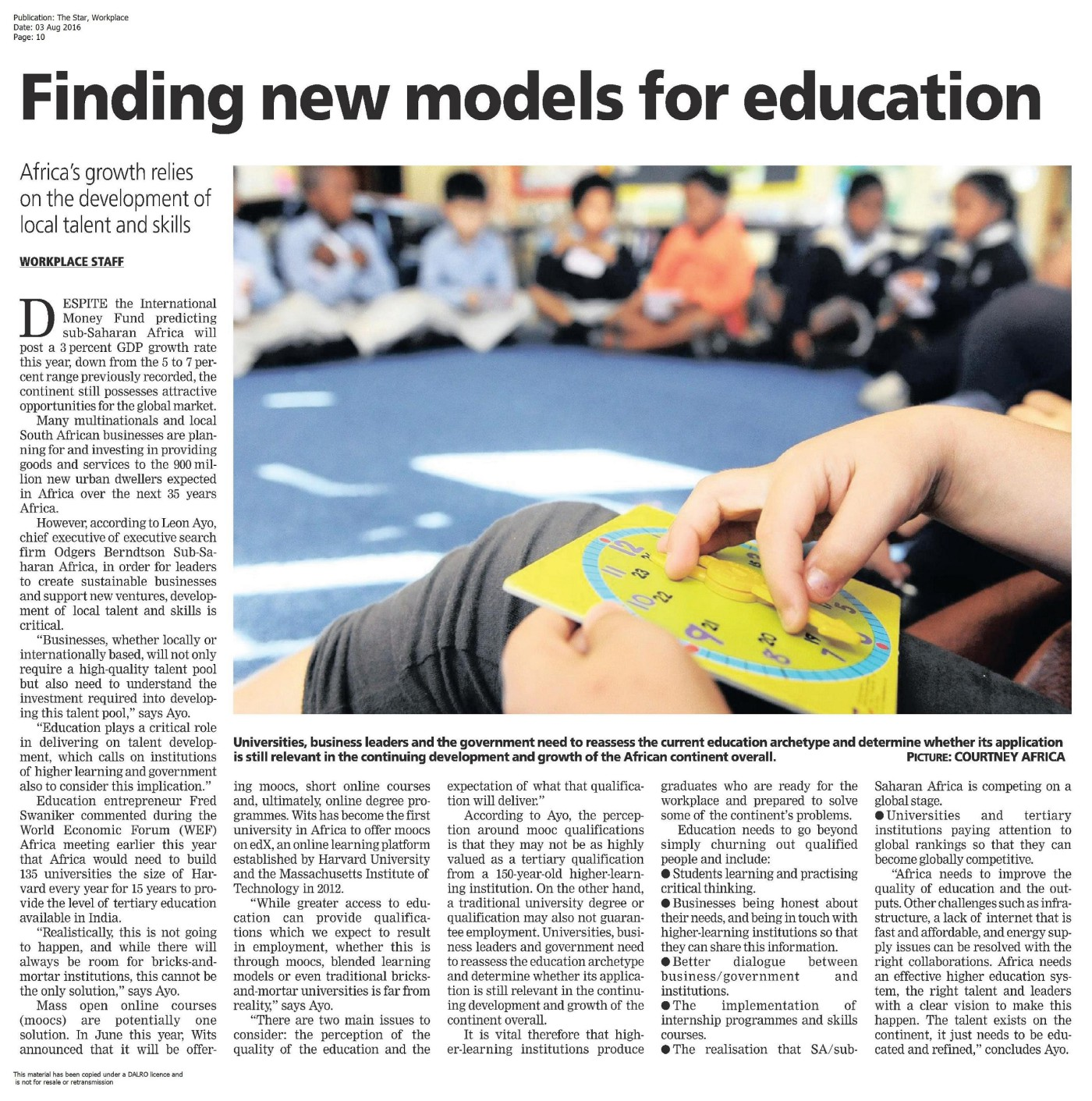 20160803_The Star, Workplace; Finding new models for education-page-001