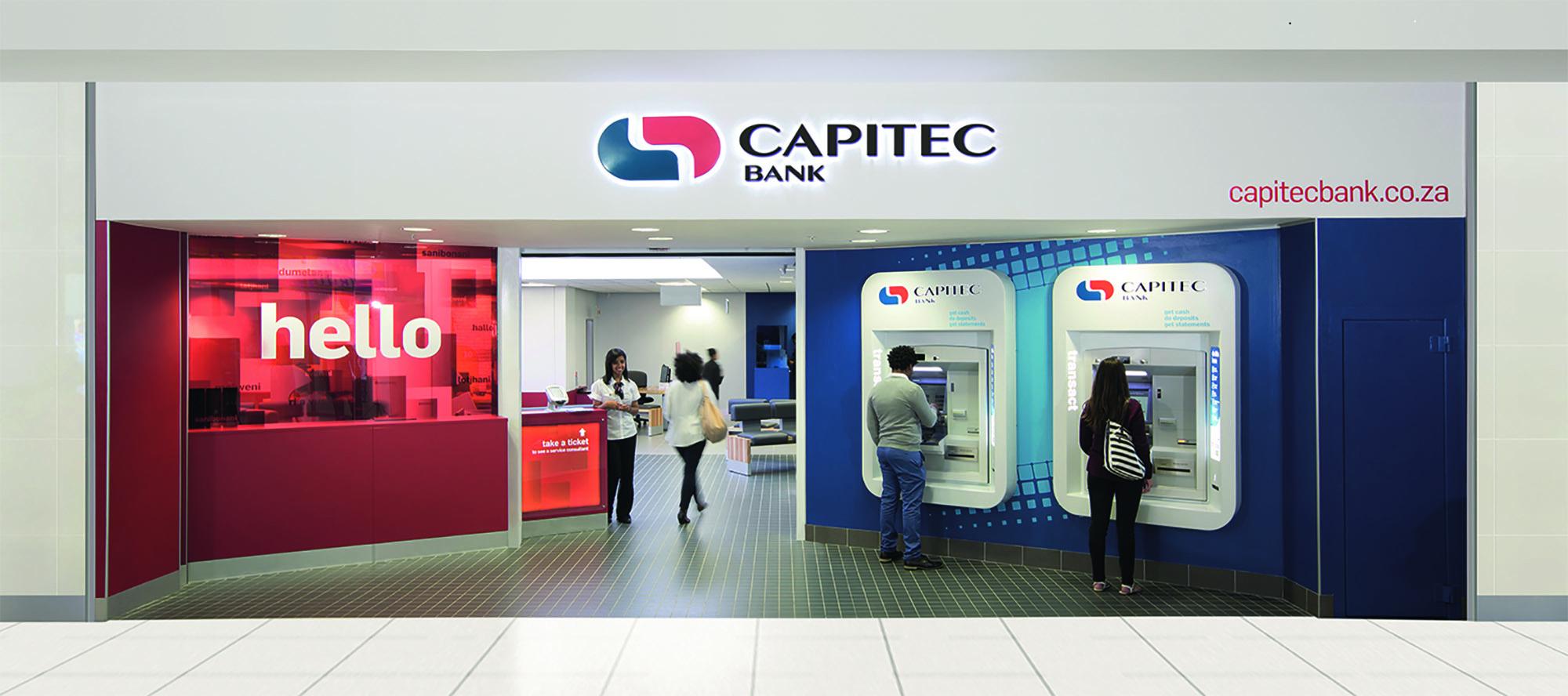Capitec Bank Branch Exterior